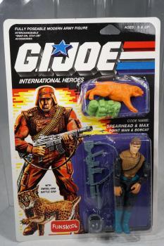 G.I. Joe / GI Joe - International Heroes – Funskool – Spearhead & Max  – MOSC