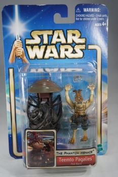 Hasbro 2002 The Phantom Menace - Teemto Pagalies - Action Figure - MOC