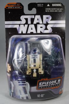 Hasbro 2006 Heroes & Villains Collection - R2-D2 - Action Figure - MOC