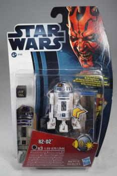 Hasbro 2012 Star Wars Movie Heroes - R2-D2 - Action Figure - MOC