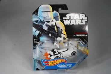 Hot Wheels - Star Wars - Character Cars - First Order Flametrooper - Diecast Model Car - MOC