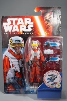 Hasbro - B4167 - Star Wars - Force Awakens - X-Wing Pilot Asty - MOC