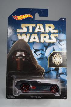 Hot Wheels - Star Wars - Ettorium - Kylo Ren  -  Diecast Model Car - MOC