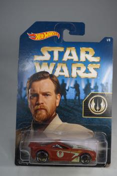 Hot Wheels - Star Wars - Scorcher - Obi Wan -  Diecast Model Car - MOC